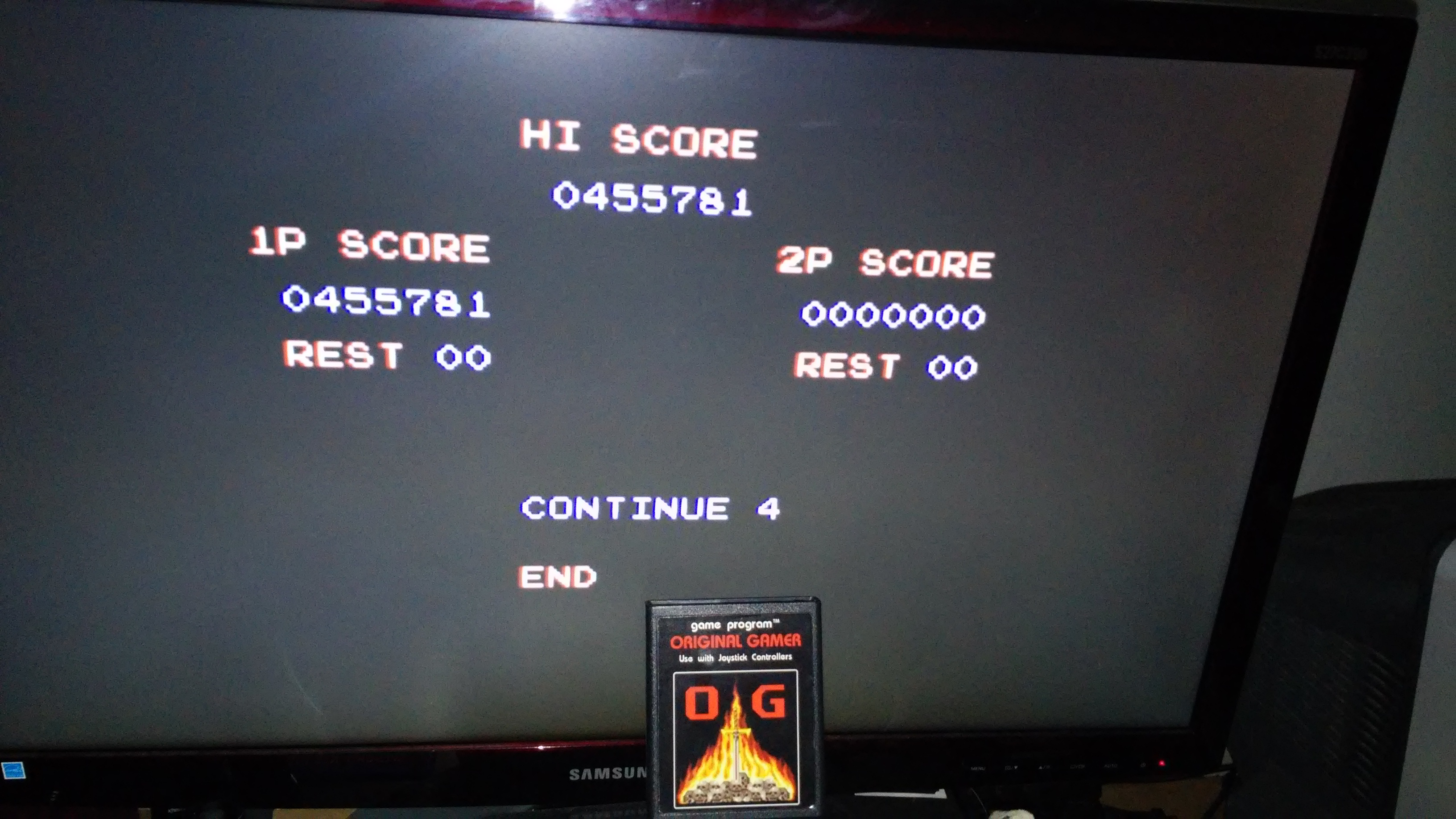 Contra III: The Alien Wars [Normal] 455,781 points