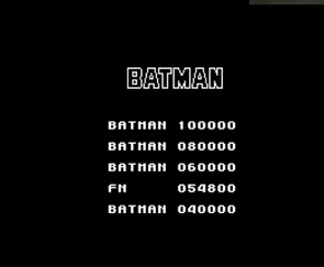 mechafatnick: Batman: The Movie (ZX Spectrum Emulated) 54,800 points on 2014-12-14 11:57:13