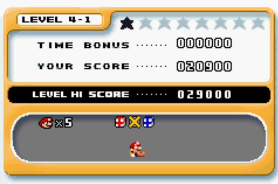Mario Vs. Donkey Kong: Level 4-1 20,900 points