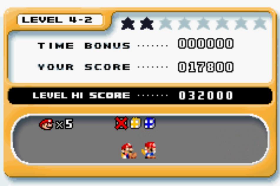 Mario Vs. Donkey Kong: Level 4-2 17,800 points