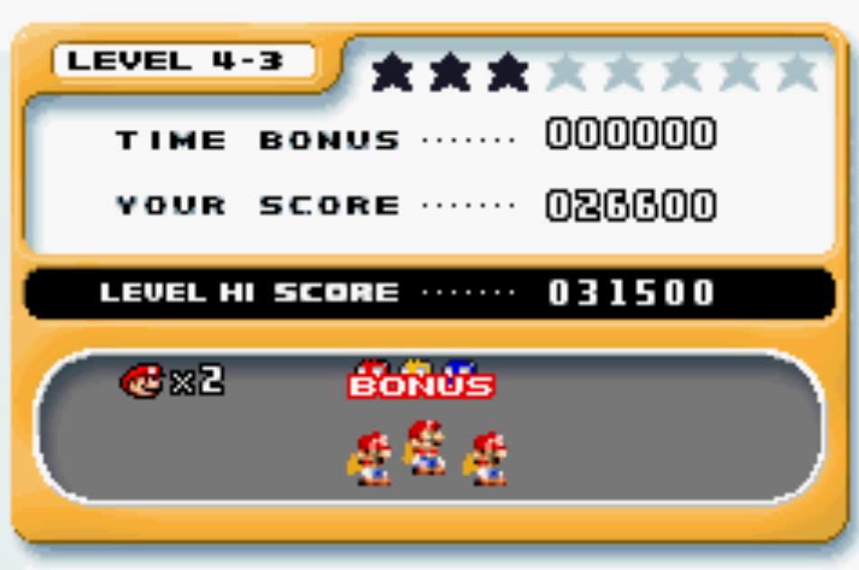 Mario Vs. Donkey Kong: Level 4-3 26,600 points