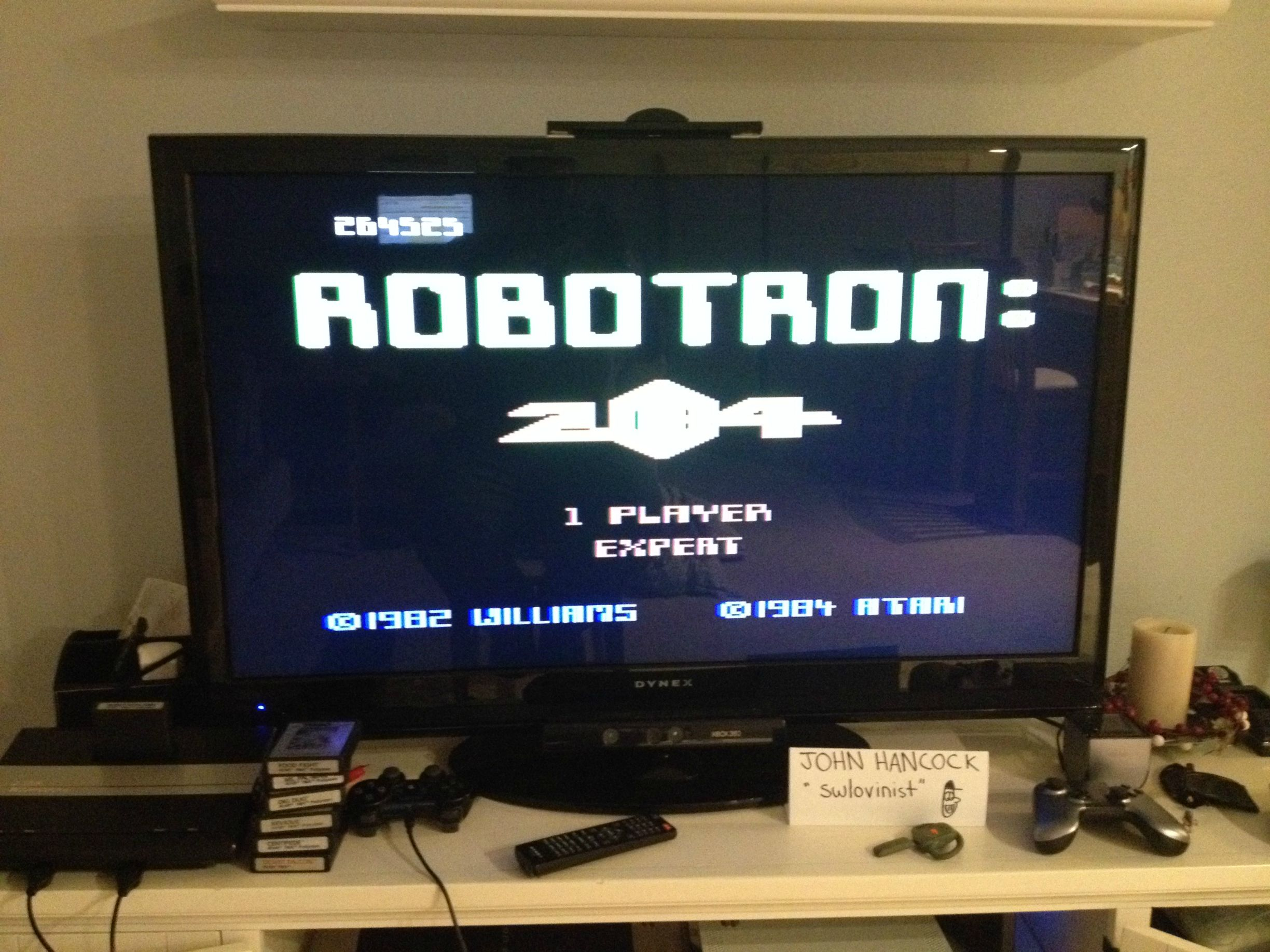 Robotron 2084: Expert 264,525 points