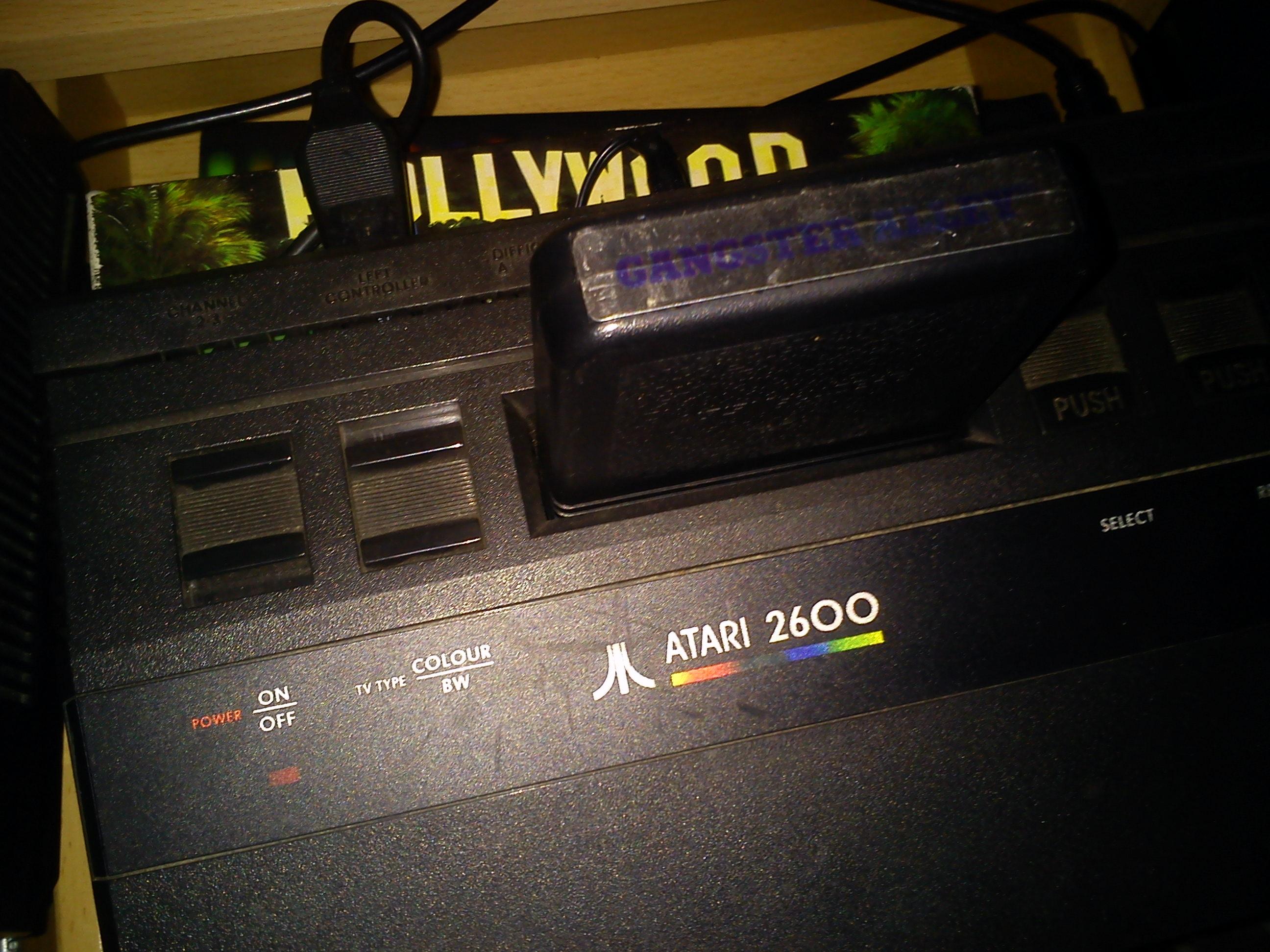 Fr0st: Gangster Alley (Atari 2600 Novice/B) 3,600 points on 2014-12-17 18:11:18
