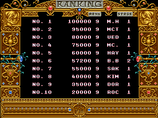 BarryBloso: Mystic Riders [mysticri] (Arcade Emulated / M.A.M.E.) 57,200 points on 2014-12-20 06:00:14