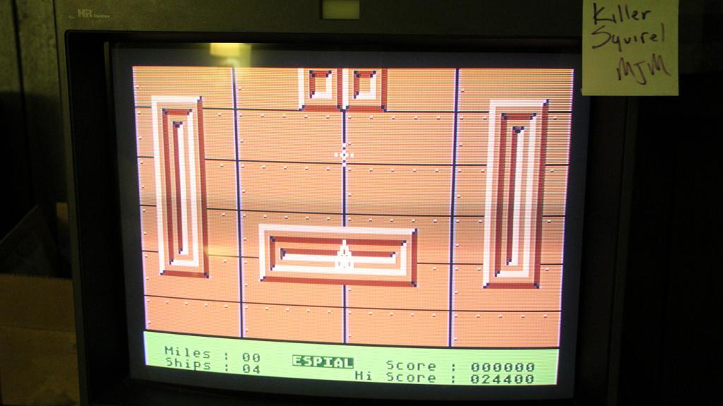 killersquirel: Espial (Atari 400/800/XL/XE) 24,400 points on 2013-10-16 23:49:20