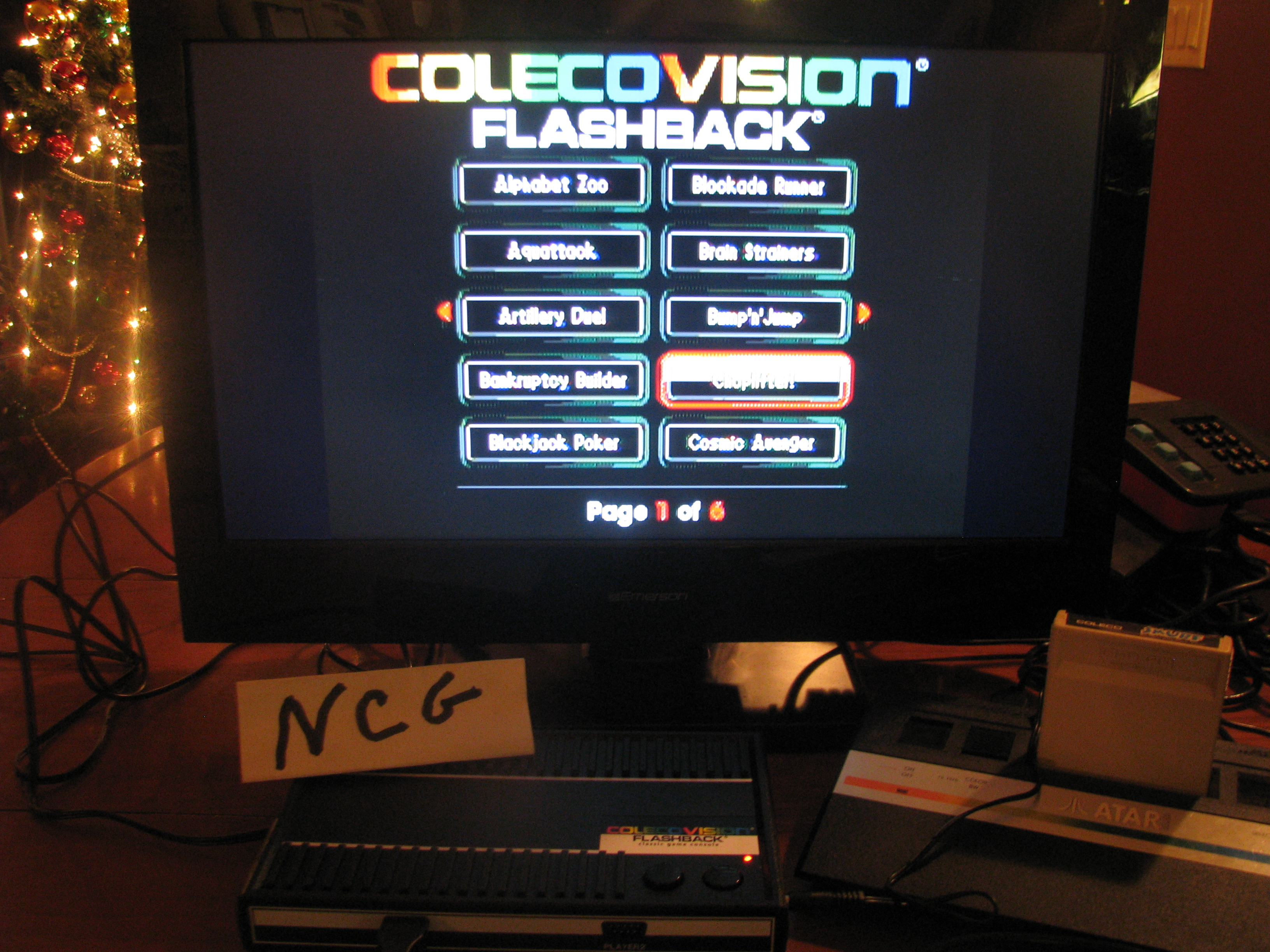 NorthCoastGamer: Choplifter (Colecovision Flashback) 64 points on 2014-12-20 23:07:29