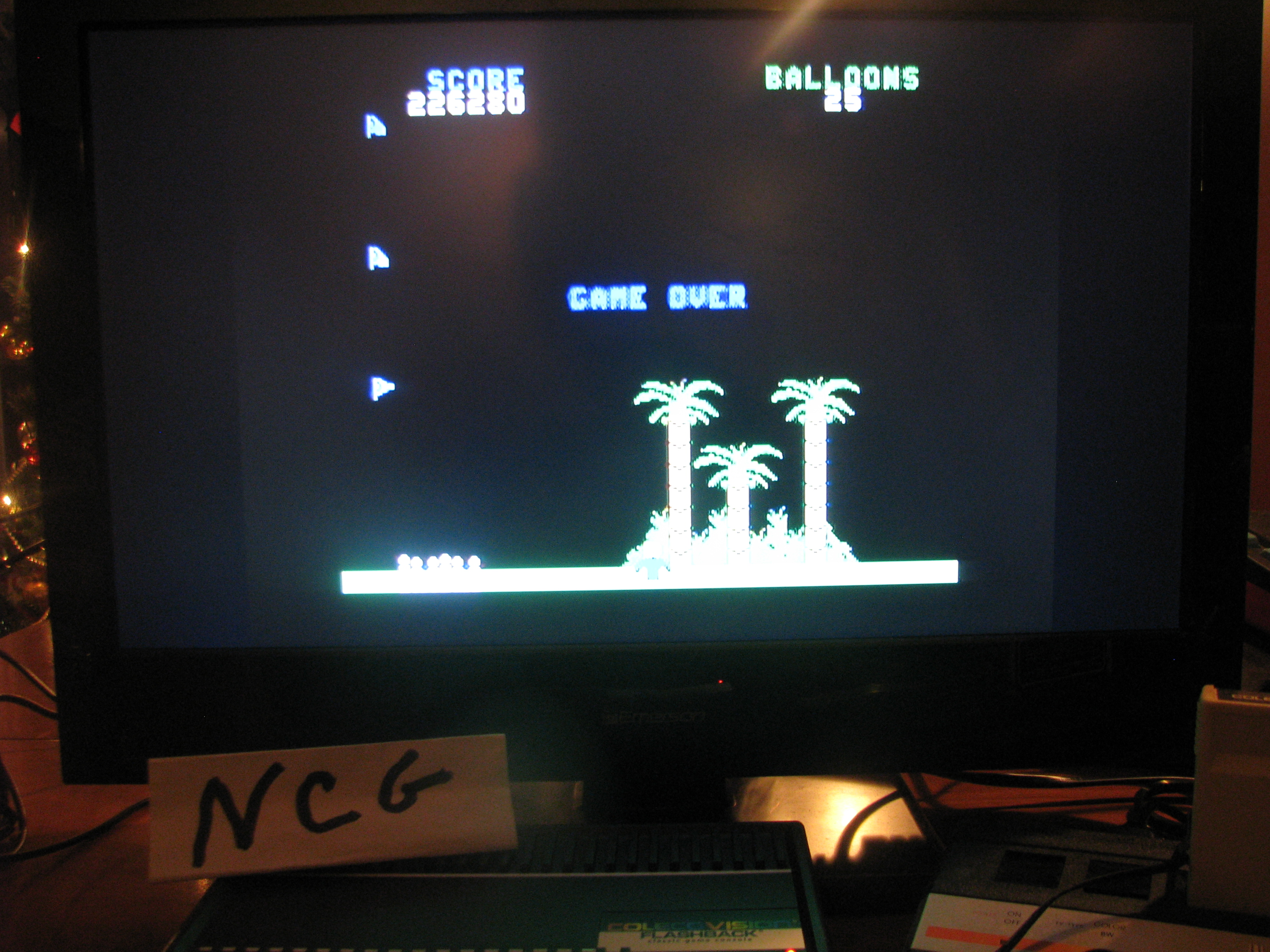 NorthCoastGamer: Gust Buster (Colecovision Flashback) 226,280 points on 2014-12-20 23:10:57