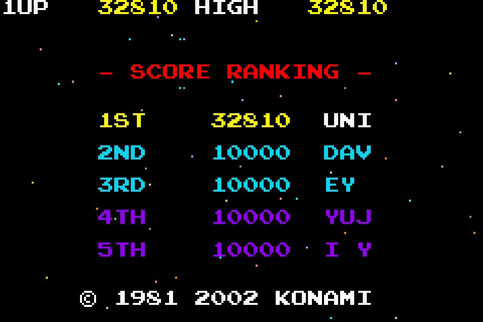 uNi73: Konami Collector