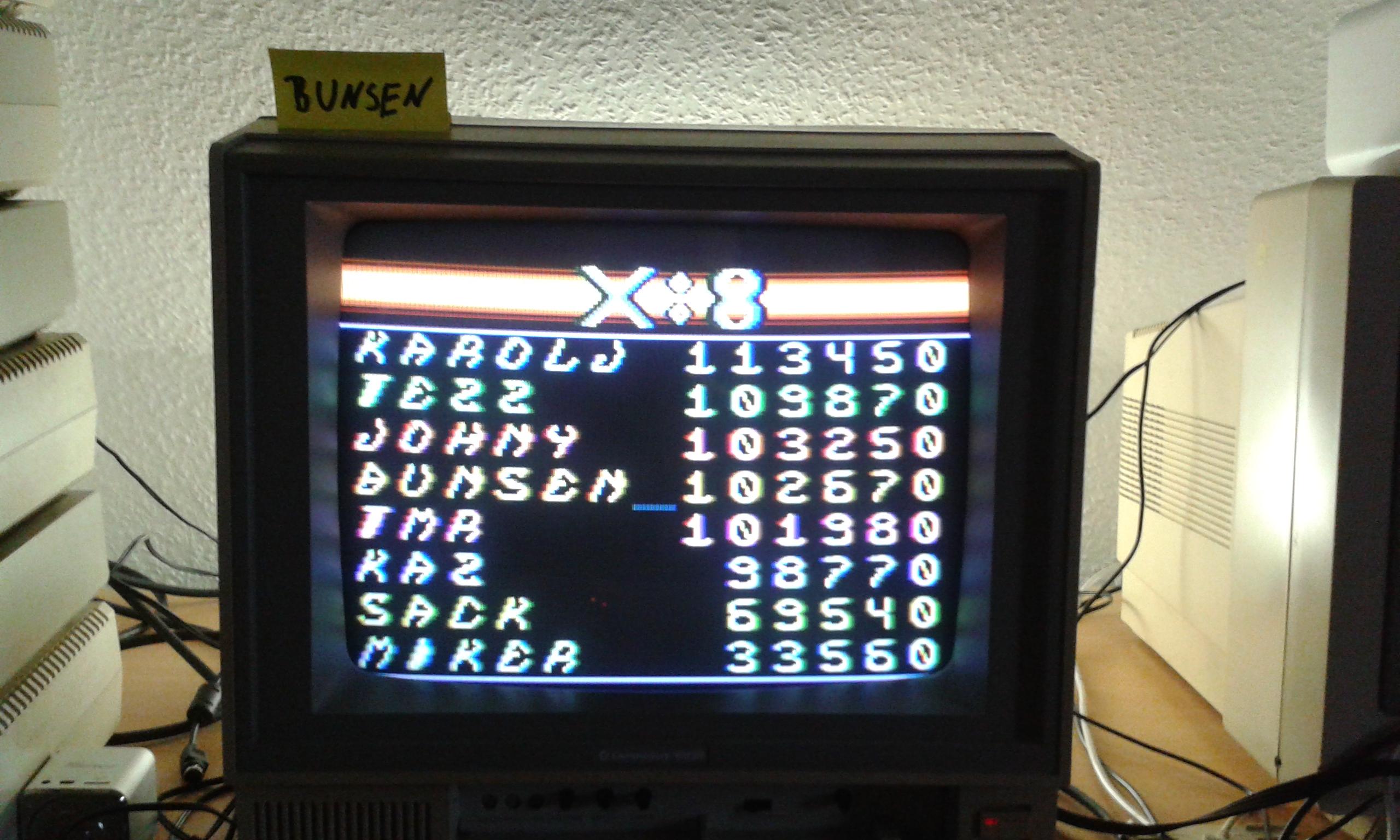 X:8 102,670 points