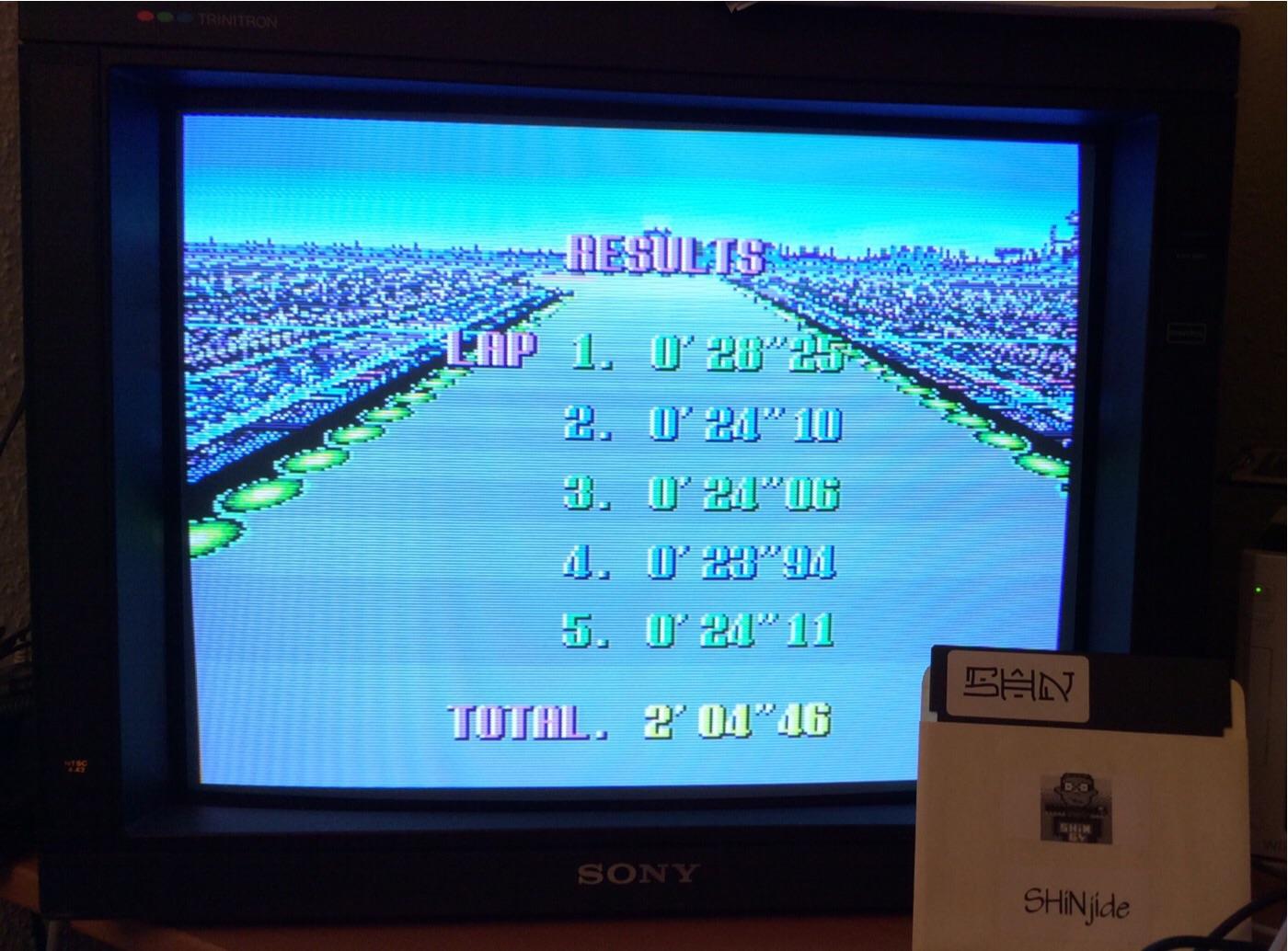 SHiNjide: F-Zero: Mute City I [Beginner] (SNES/Super Famicom Emulated) 0:02:04.46 points on 2014-12-23 11:20:31