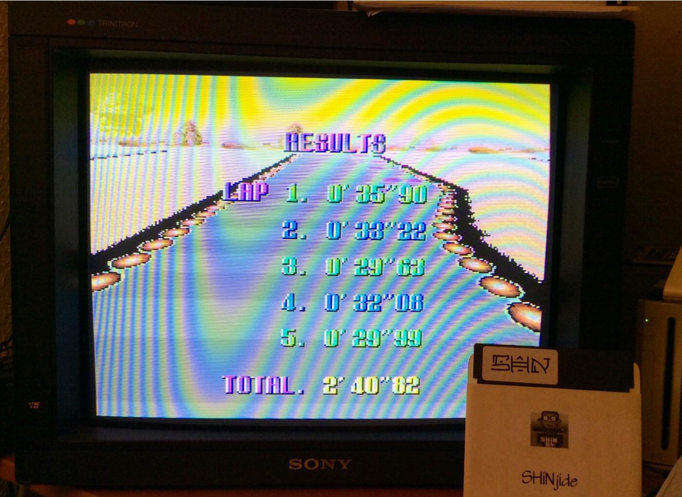 SHiNjide: F-Zero: Sand Ocean [Beginner] (SNES/Super Famicom Emulated) 0:02:40.82 points on 2014-12-23 11:21:46