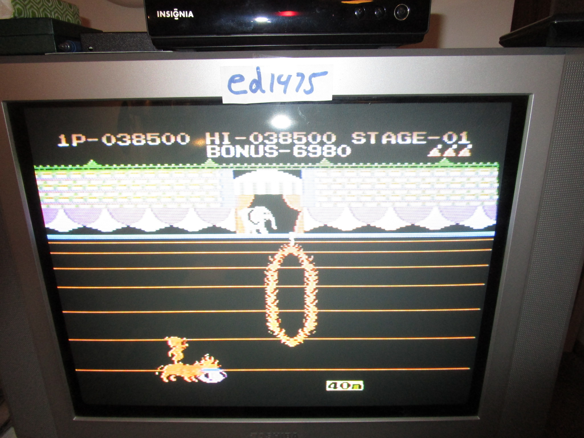 ed1475: Circus Charlie (Colecovision) 38,500 points on 2014-12-23 20:03:55