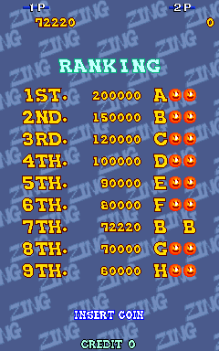 Zing Zing Zip [zingzip] 72,220 points