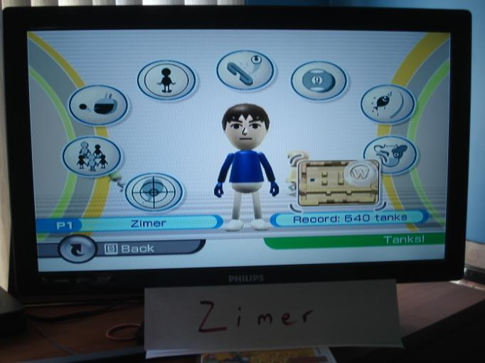 Zimer: Wii Play: Tanks! (Wii) 540 points on 2014-12-26 13:20:41