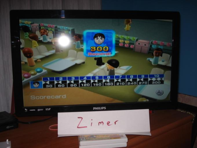 Wii Sports: Bowling [Game Score] 300 points