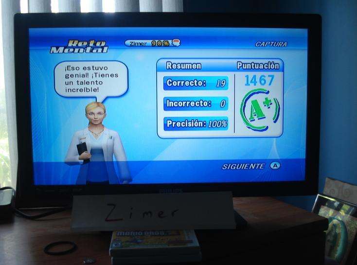 Zimer: Brain Challenge: Focus Catching (Wii) 1,467 points on 2014-12-26 13:33:11