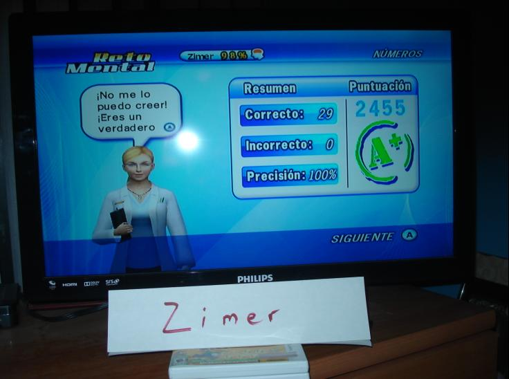 Zimer: Brain Challenge: Focus Numbers (Wii) 2,455 points on 2014-12-26 12:34:27
