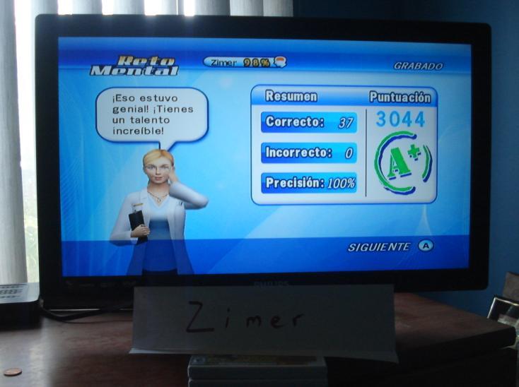Zimer: Brain Challenge: Logic Impression (Wii) 3,044 points on 2014-12-26 13:36:25