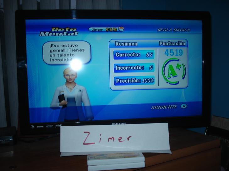 Zimer: Brain Challenge: Logic Magic Rule (Wii) 4,519 points on 2014-12-26 13:36:50