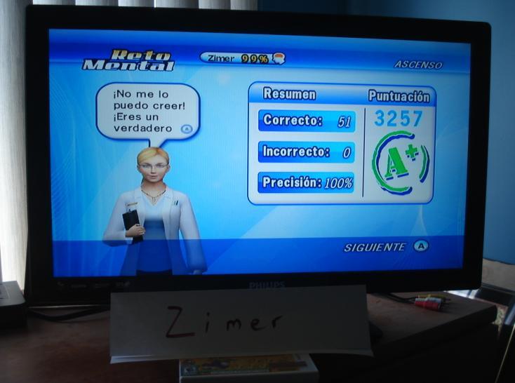 Zimer: Brain Challenge: Visual Ascending (Wii) 3,257 points on 2014-12-26 13:43:58