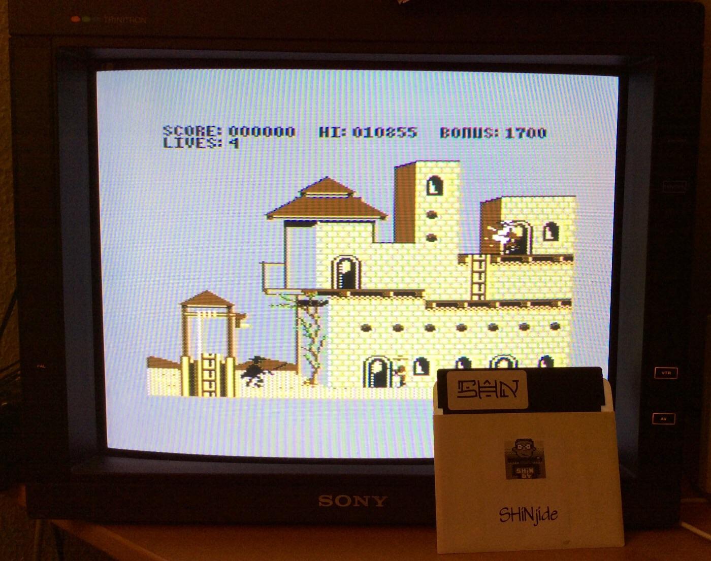 SHiNjide: Zorro (Commodore 64) 10,855 points on 2014-12-26 16:58:52