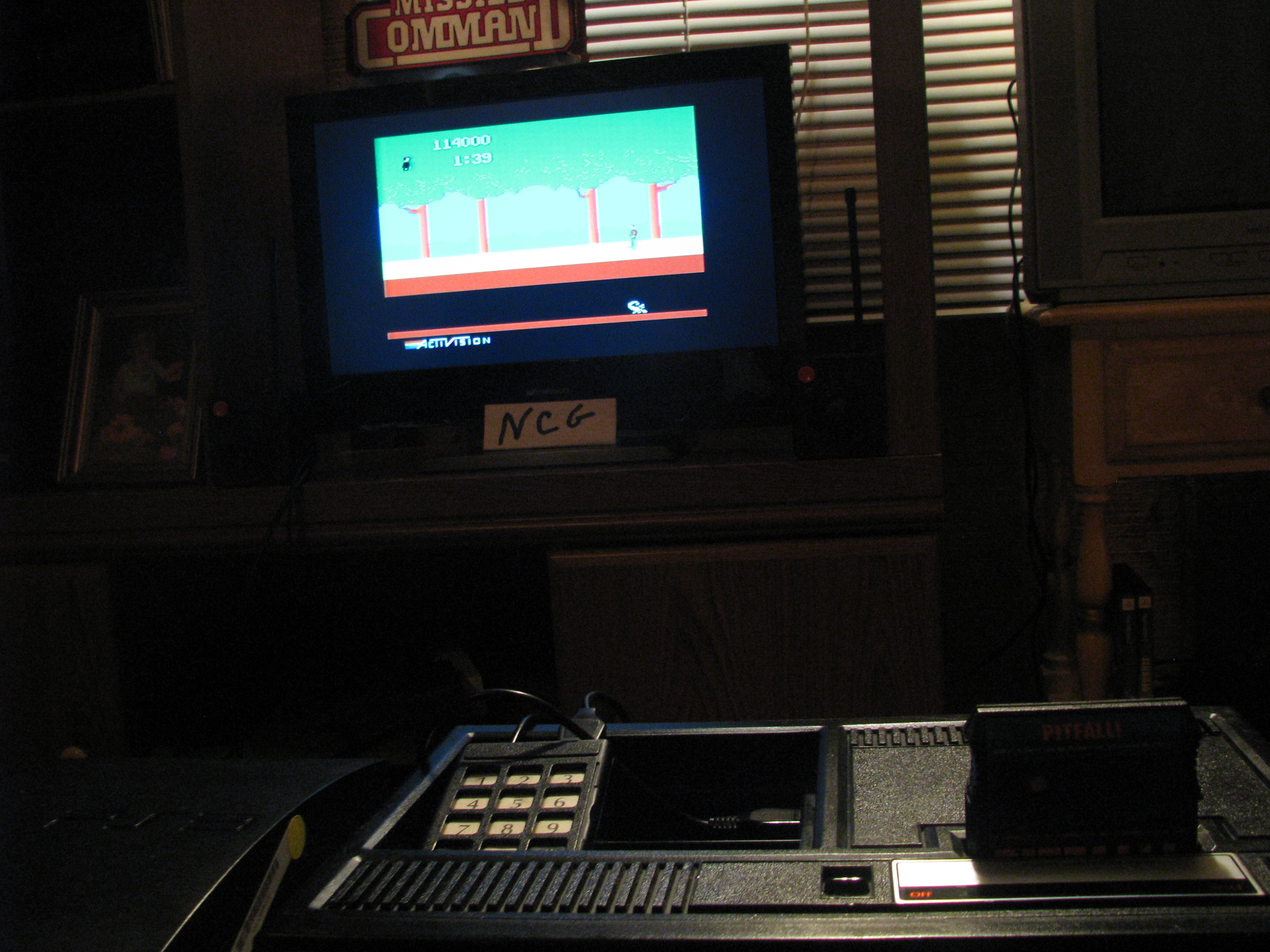 NorthCoastGamer: Pitfall! (Colecovision) 114,000 points on 2014-12-26 17:48:24