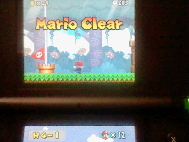 DarkEonMaster: New Super Mario Bros.: World 4-1 [Remaining Time] (Nintendo DS) 283 points on 2014-12-27 16:16:53
