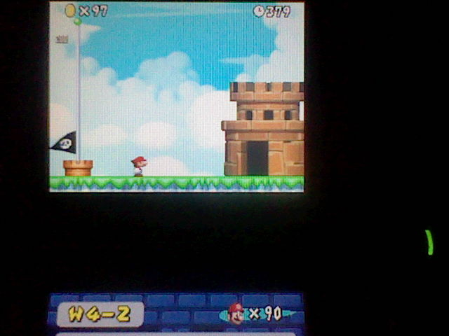 DarkEonMaster: New Super Mario Bros.: World 4-2 [Remaining Time] (Nintendo DS) 379 points on 2014-12-27 16:18:31