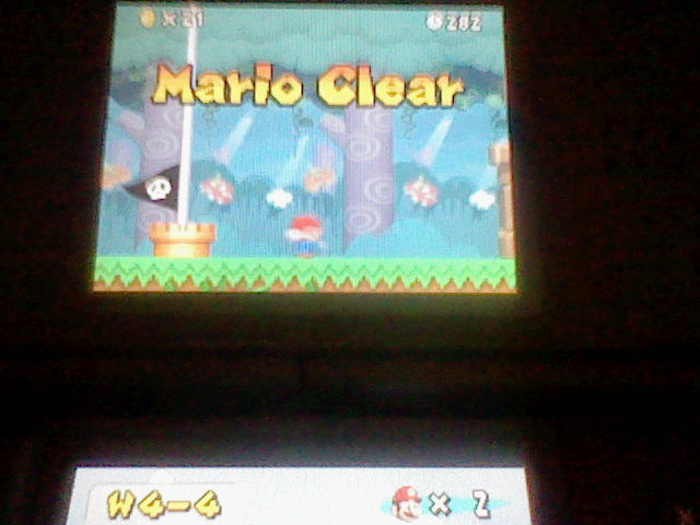 DarkEonMaster: New Super Mario Bros.: World 4-4 [Remaining Time] (Nintendo DS) 282 points on 2014-12-27 16:24:51