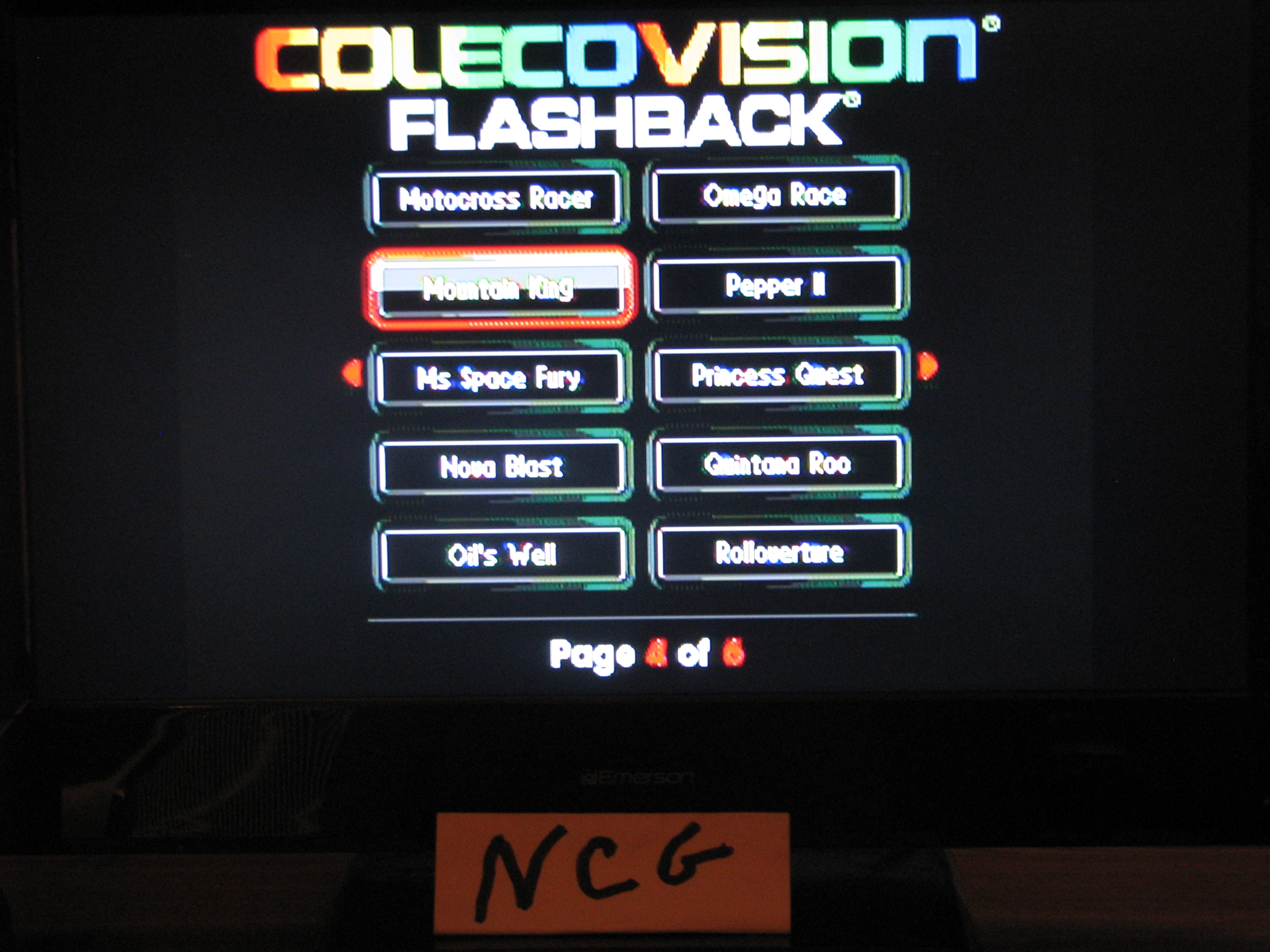NorthCoastGamer: Mountain King (Colecovision Flashback) 38,030 points on 2014-12-28 20:42:31