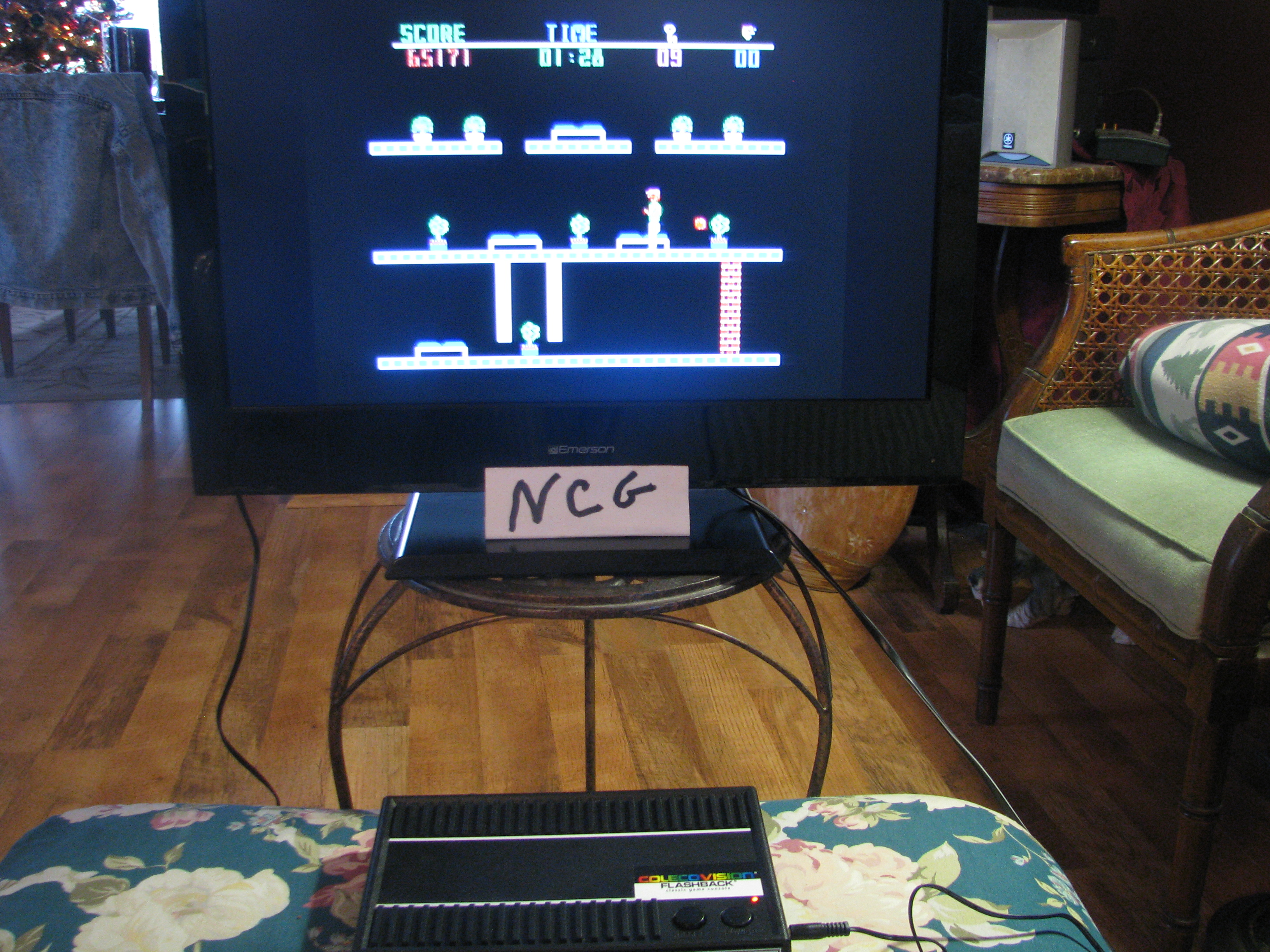 NorthCoastGamer: The Heist (Colecovision Flashback) 65,171 points on 2014-12-28 20:46:29