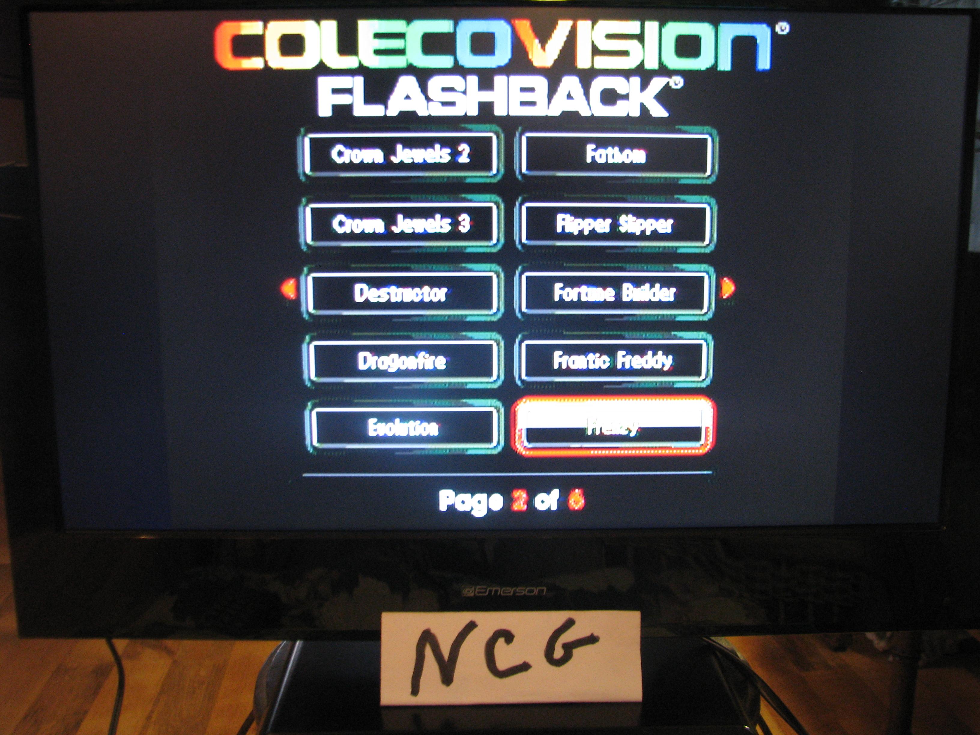 NorthCoastGamer: Frenzy (Colecovision Flashback) 14,526 points on 2014-12-28 20:50:33