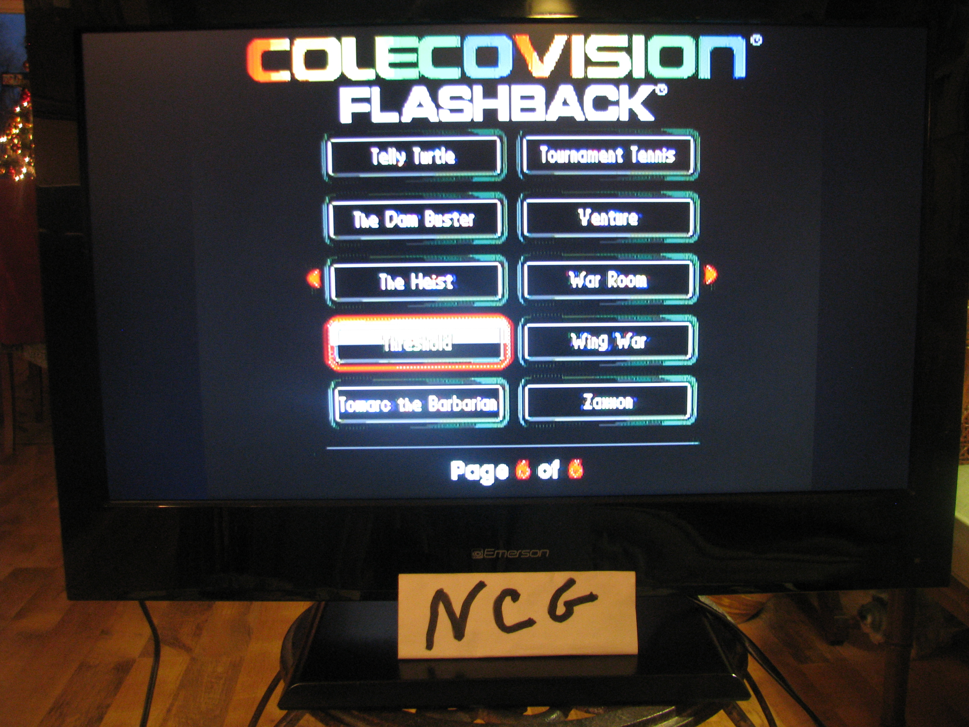 NorthCoastGamer: Threshold (Colecovision Flashback) 38,900 points on 2014-12-28 21:00:17
