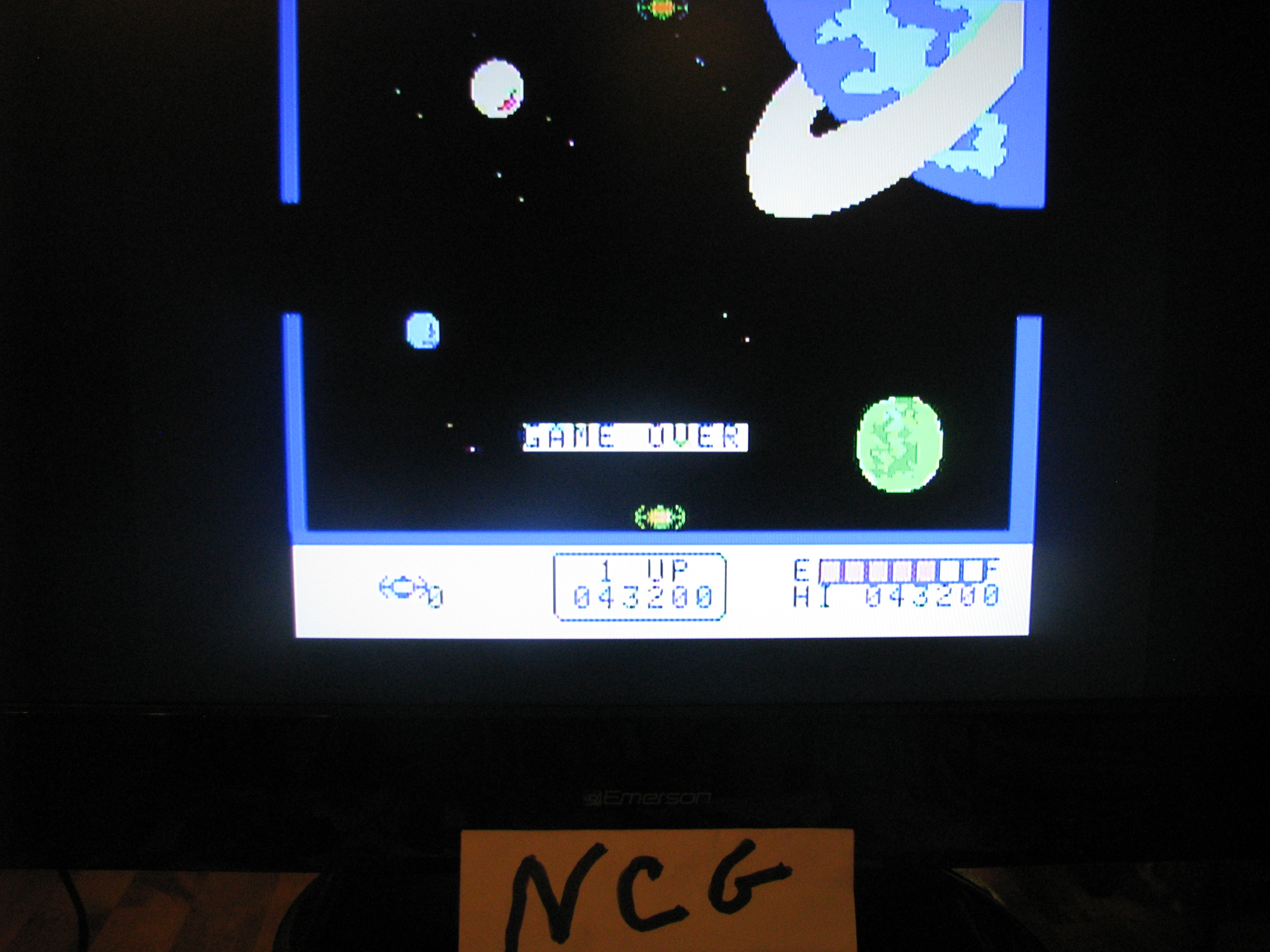 NorthCoastGamer: Super Cross Force (Colecovision Flashback) 43,200 points on 2014-12-28 21:42:04