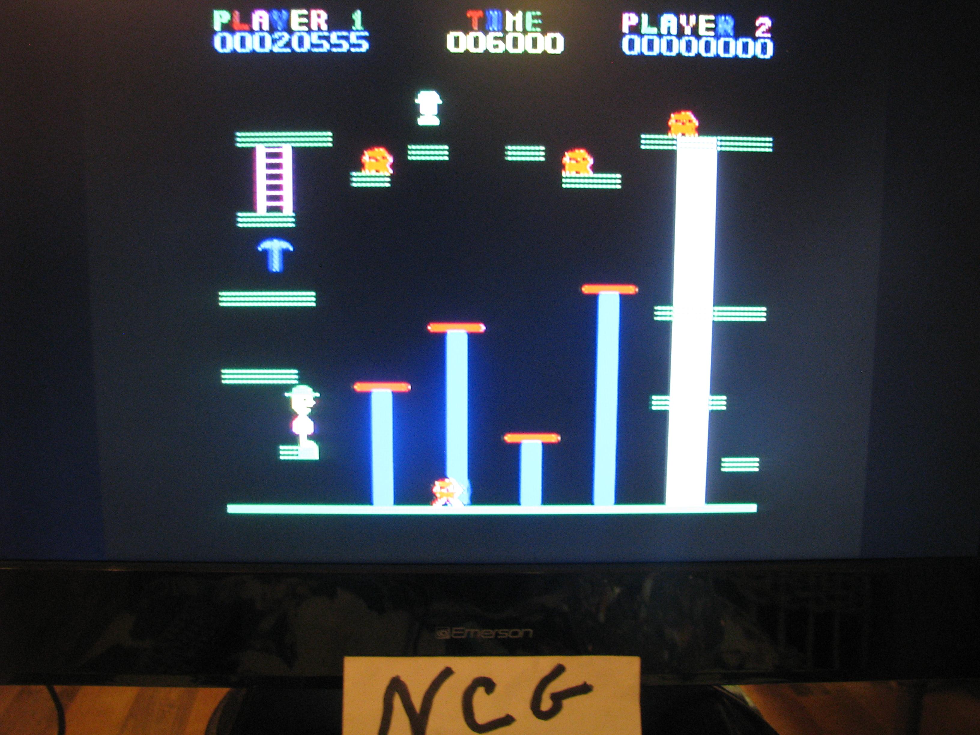 NorthCoastGamer: Miner 2049er (Colecovision Flashback) 20,555 points on 2014-12-28 21:48:34
