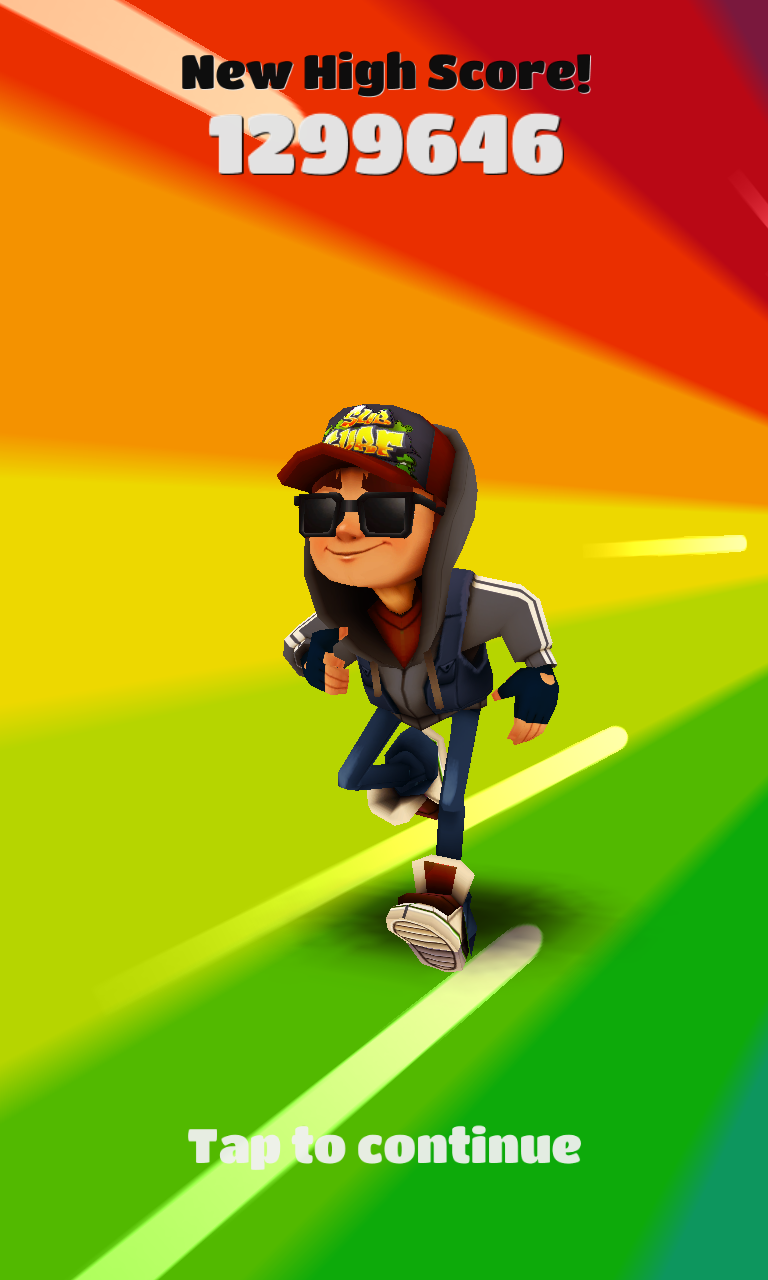 highest score subway surfers
