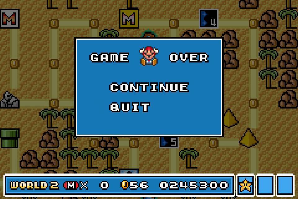 uNi73: Super Mario Advance 4: Super Mario Bros. 3 (GBA Emulated) 245,300 points on 2015-01-01 16:42:15