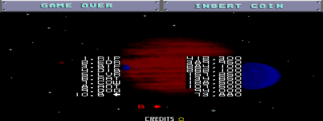 BarryBloso: Blasteroids [blstroid] (Arcade Emulated / M.A.M.E.) 73,880 points on 2015-01-02 06:23:50