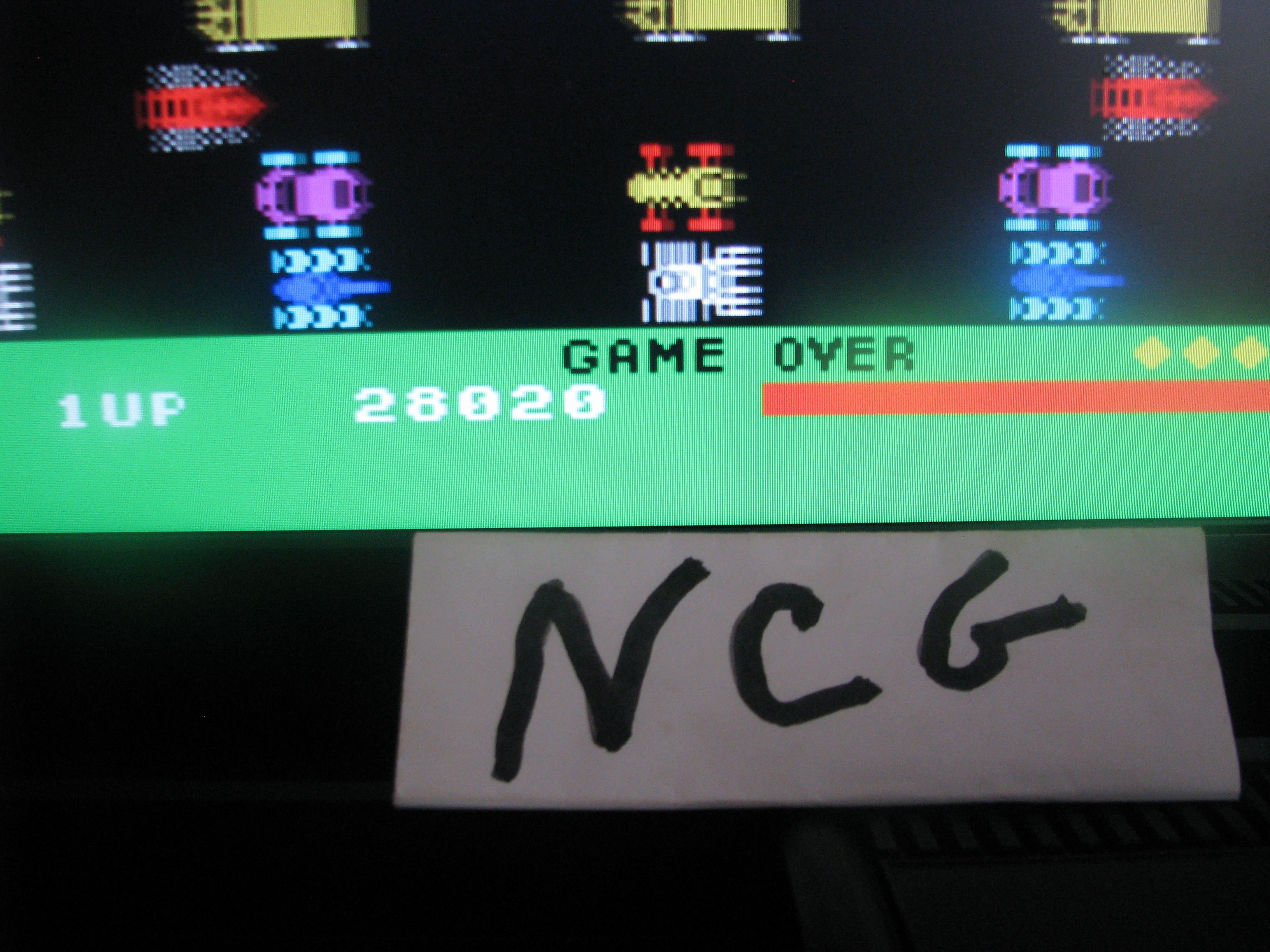 Frogger 28,020 points