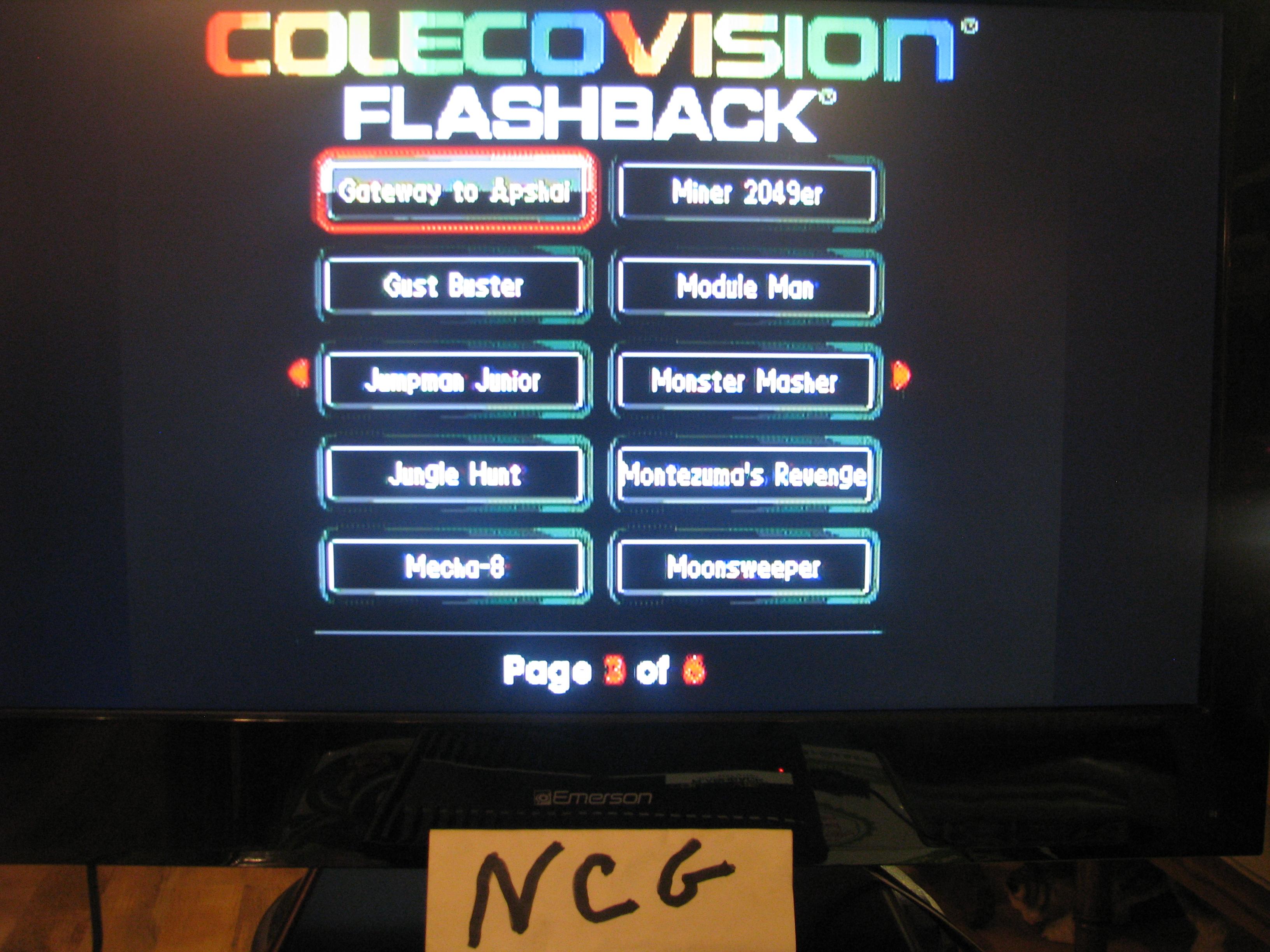 NorthCoastGamer: Gateway to Apshai (Colecovision Flashback) 14,910 points on 2015-01-03 21:59:47