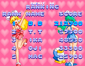 Sexy Parodius 212,700 points