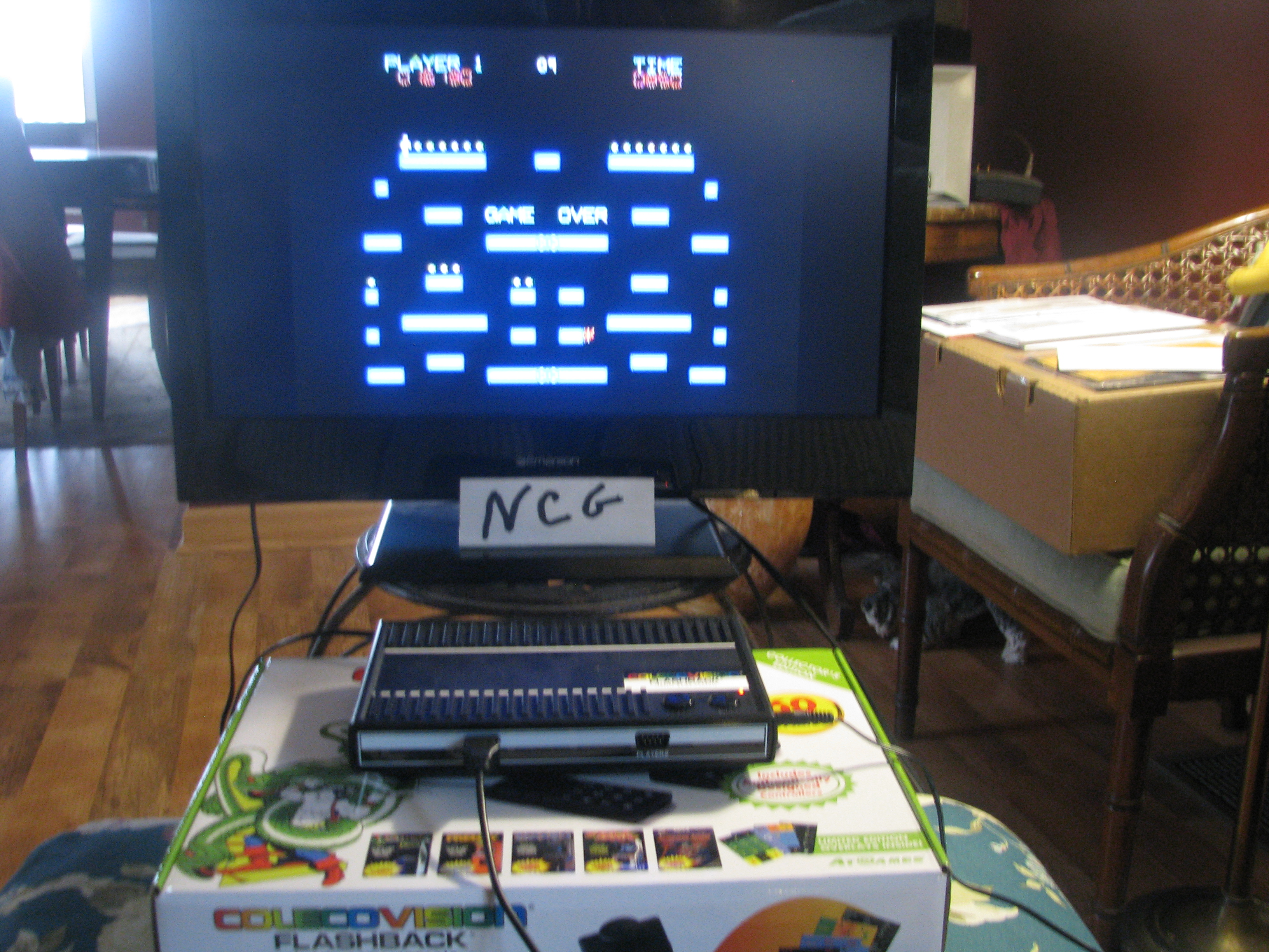 NorthCoastGamer: Ms. Space Fury (Colecovision Flashback) 16,130 points on 2015-01-04 12:13:30