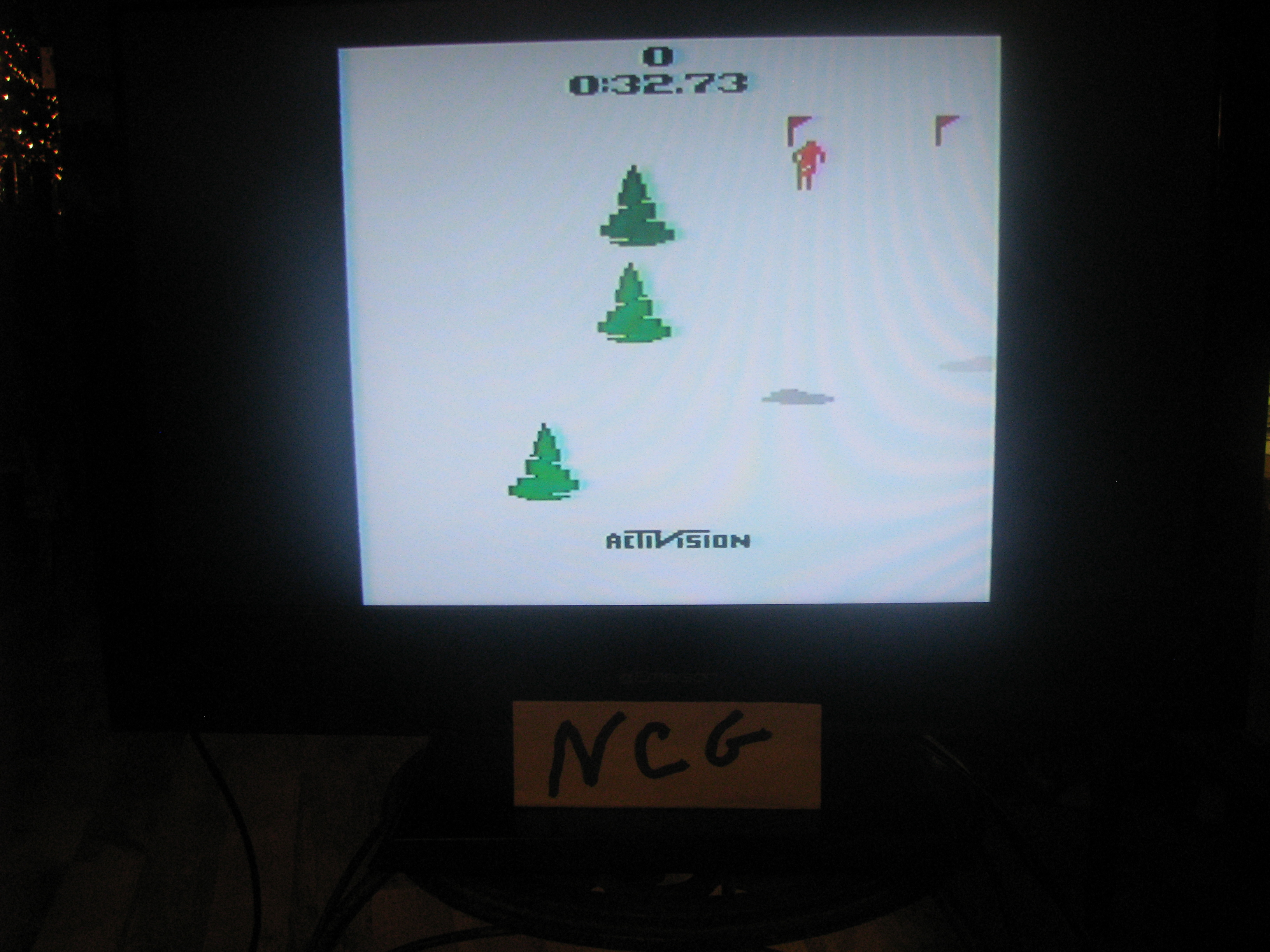 NorthCoastGamer: Skiing: Game 1 (Atari 2600 Novice/B) 0:00:32.73 points on 2015-01-05 20:48:47