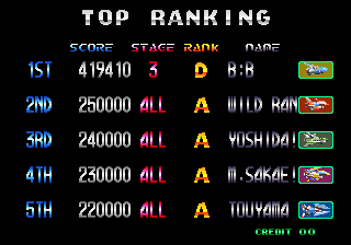 BarryBloso: Blazing Star (Arcade Emulated / M.A.M.E.) 419,410 points on 2015-01-06 05:18:51