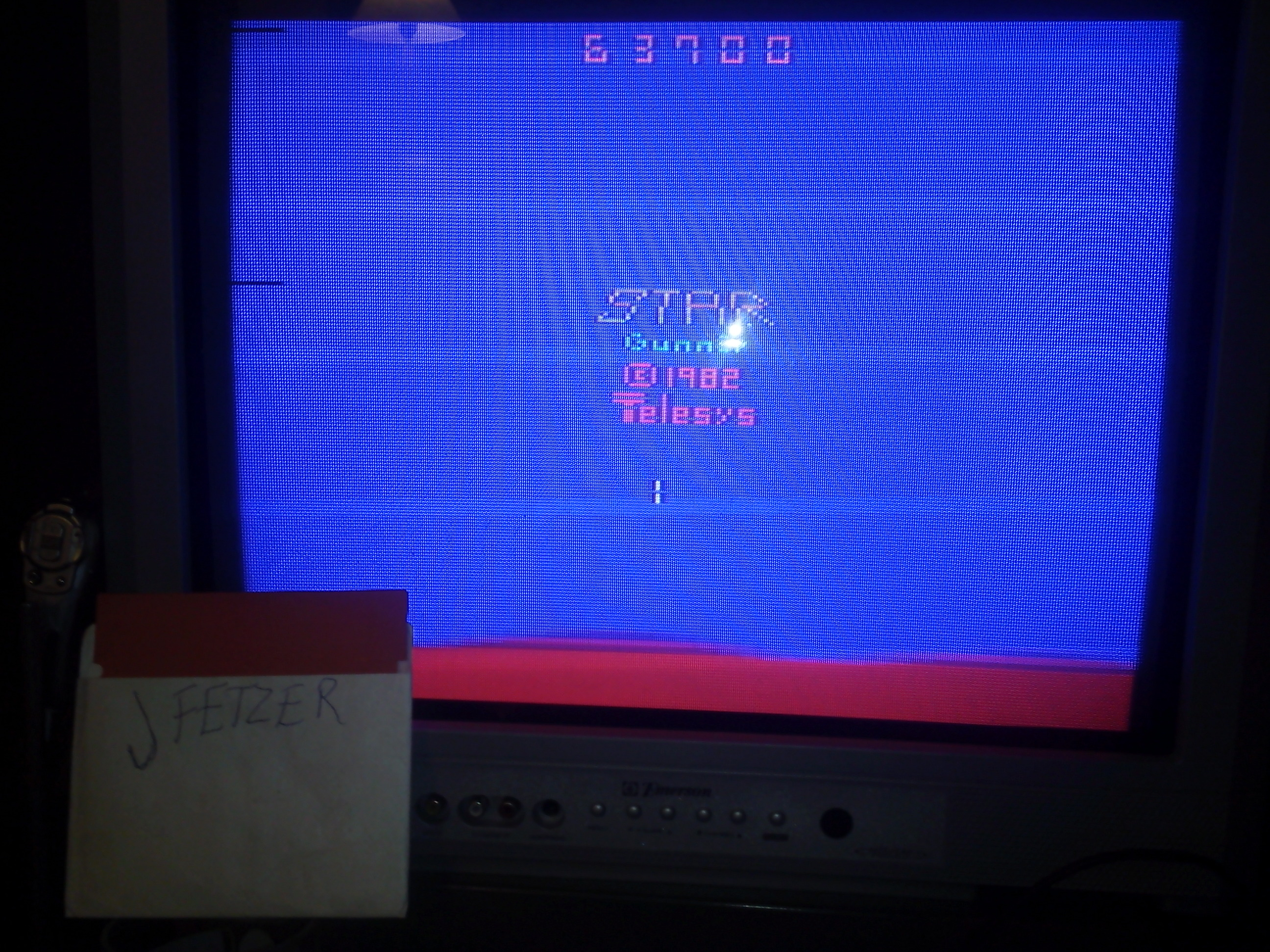 jfetzer: Stargunner (Atari 2600 Novice/B) 63,700 points on 2015-01-06 19:02:02