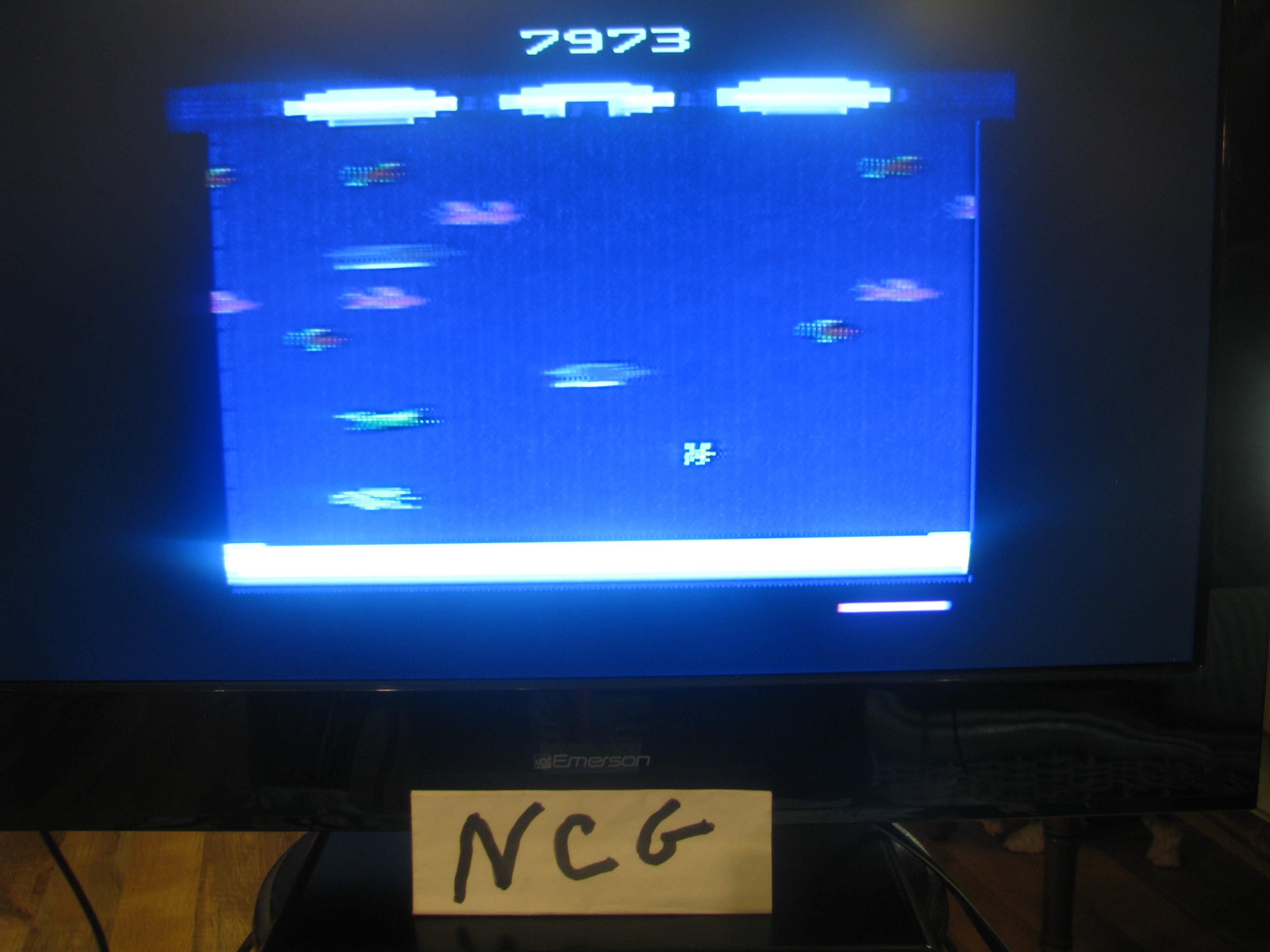 NorthCoastGamer: Frogger II: Threedeep (Atari 2600 Novice/B) 7,973 points on 2015-01-06 19:24:24