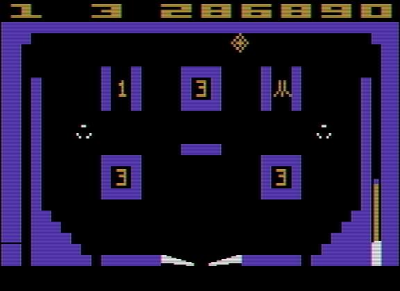 Video Pinball 286,890 points