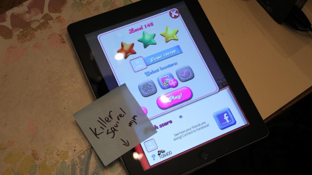 killersquirel: Candy Crush Saga: Level 146 (iOS) 108,400 points on 2013-10-17 06:12:58