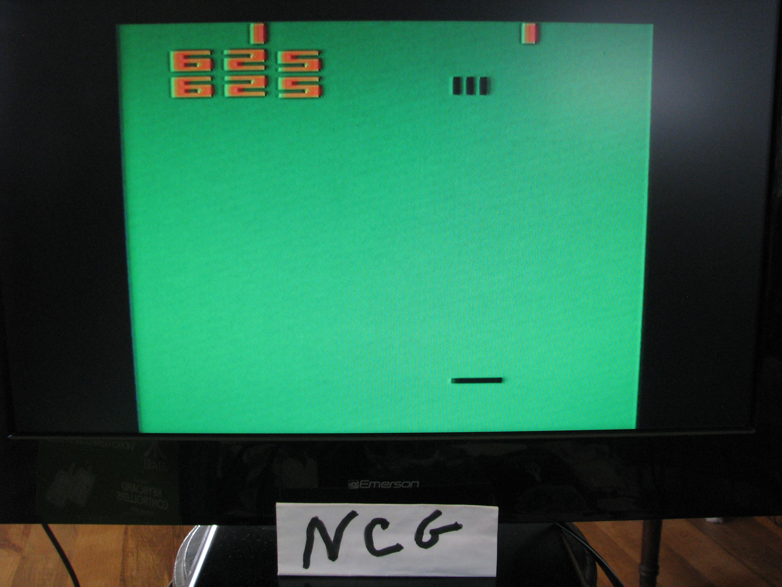 NorthCoastGamer: Codebreaker: Game 1 (Atari 2600 Novice/B) 1 points on 2015-01-08 10:25:39