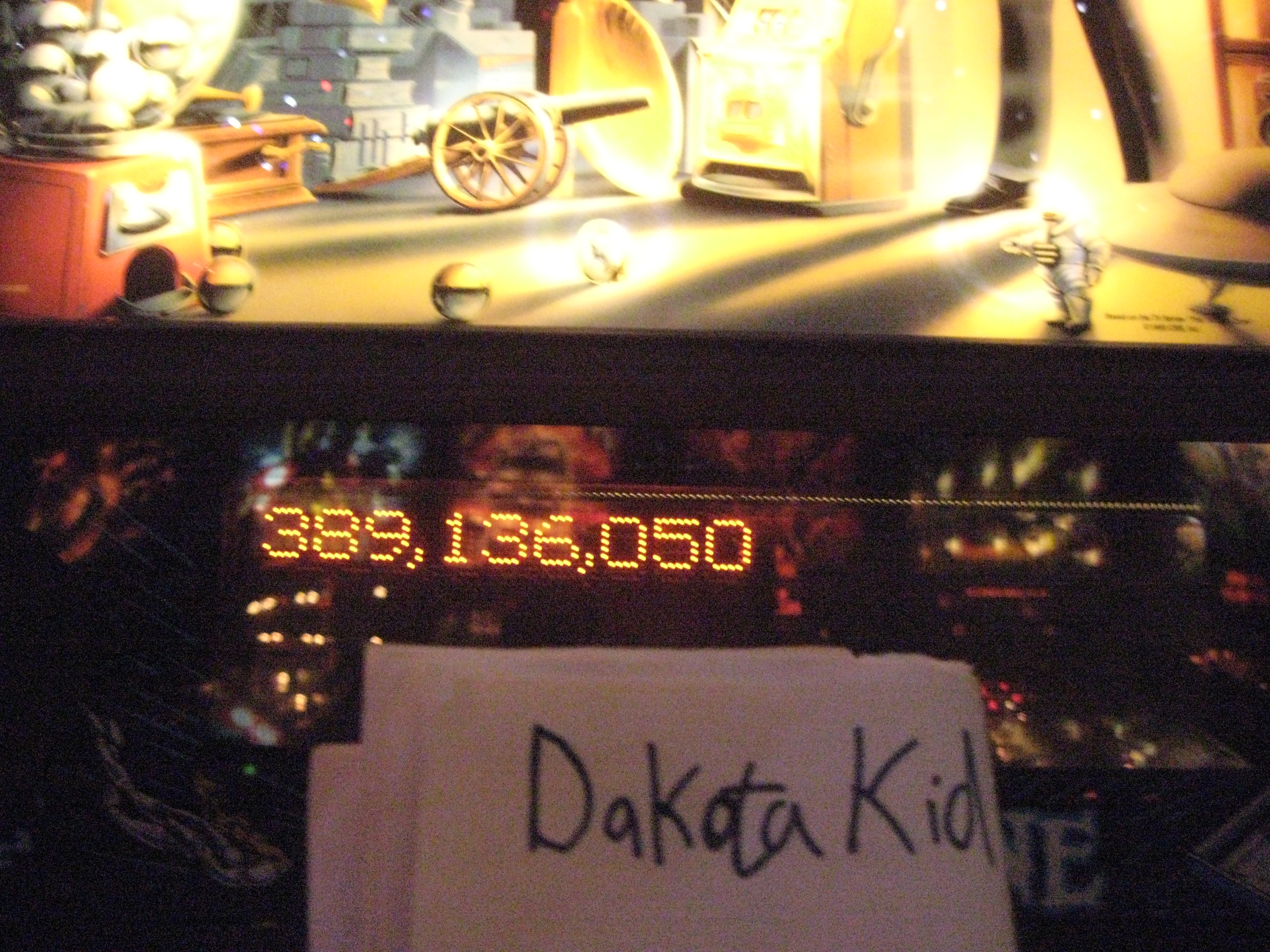 DakotaKid: Twilight Zone (Pinball: 3 Balls) 389,136,050 points on 2015-01-08 21:48:48
